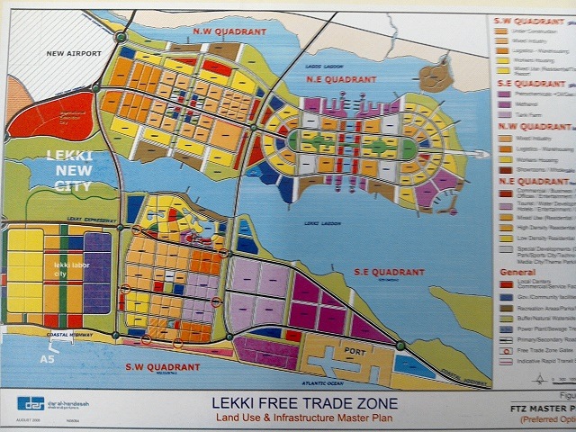 Master Plan of Lekki-Free-Trade-Zone-LFTZ-master plan