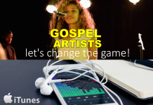 gospel artist, music digital sales