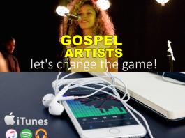 gospel artist, music digital sales