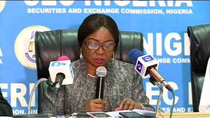 Acting Director-General of SEC, Ms Mary Uduk Stock Exchange