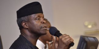 Vice President Yemi-Osinbajo-Tech-based youth entrepreneurship kick-starts at Unilag