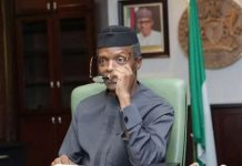 office of the Vice President, Prof. Yemi Osinbajo