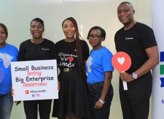 Diamond Bank Partners Facebook to Host Business Training for Entrepreneurs Across Nigeria.