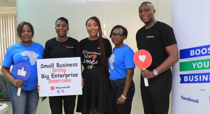Diamond Bank Partners Facebook to Host Business Training for Entrepreneurs Across Nigeria.