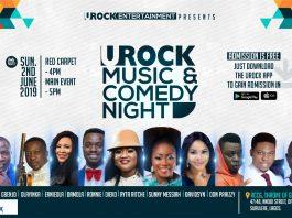 URock Online Radio Entertainment Event Nigeria