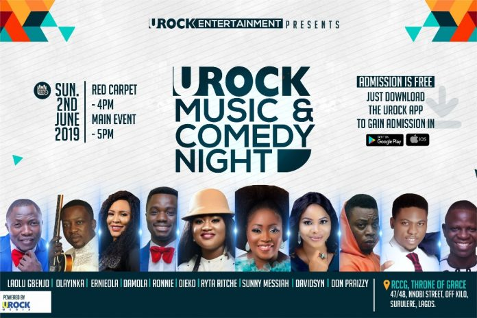 URock Online Radio Entertainment Event Nigeria