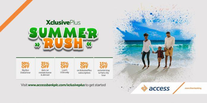 XclusivePlus Summer Rush - Access Bank Nigeria