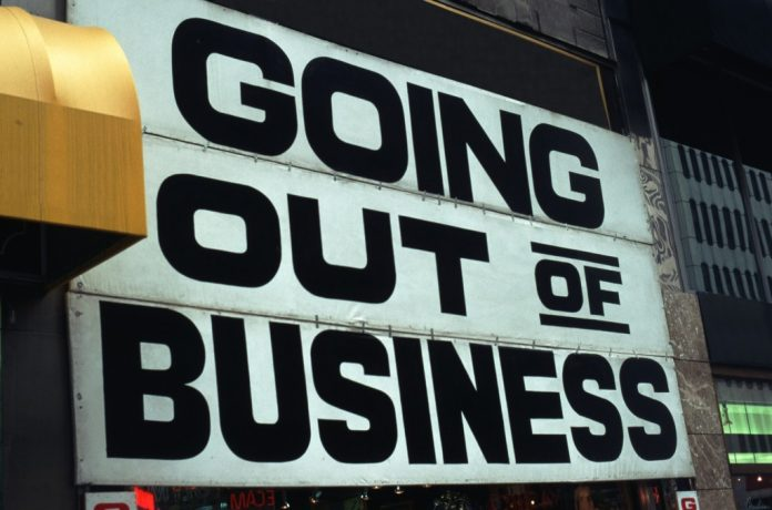 why businesses shut down SMEs