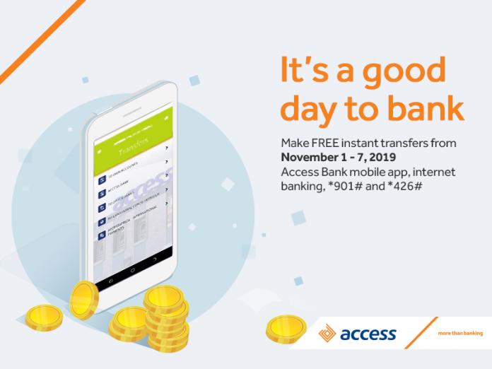 Access Bank FREE-TRANSFER