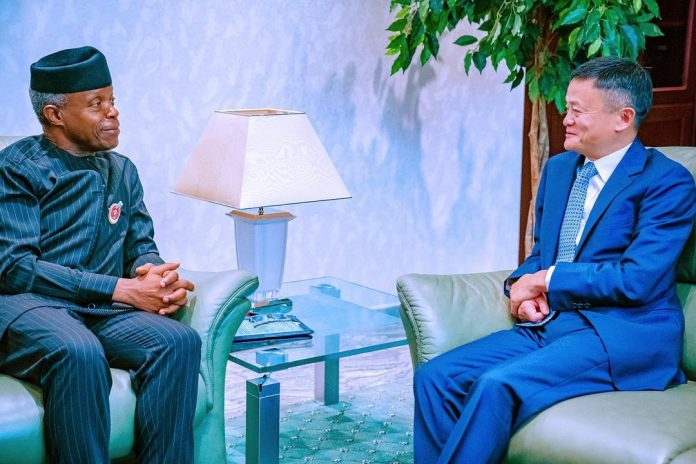 China Business Mogul, Jack Ma Visits Nigeria