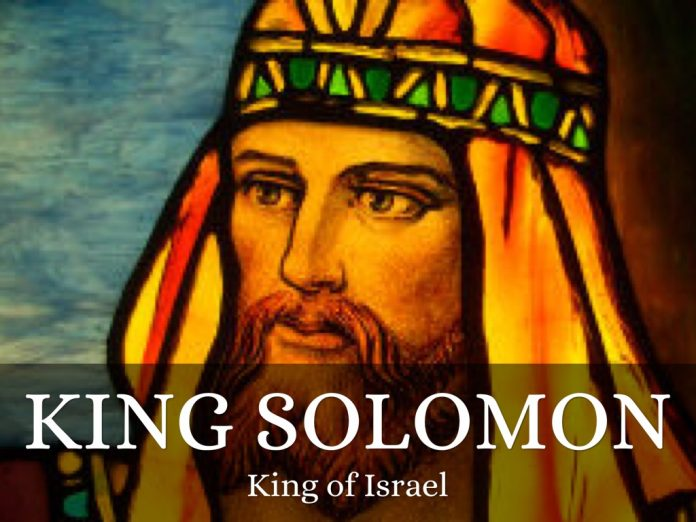 how solomon became wealthy