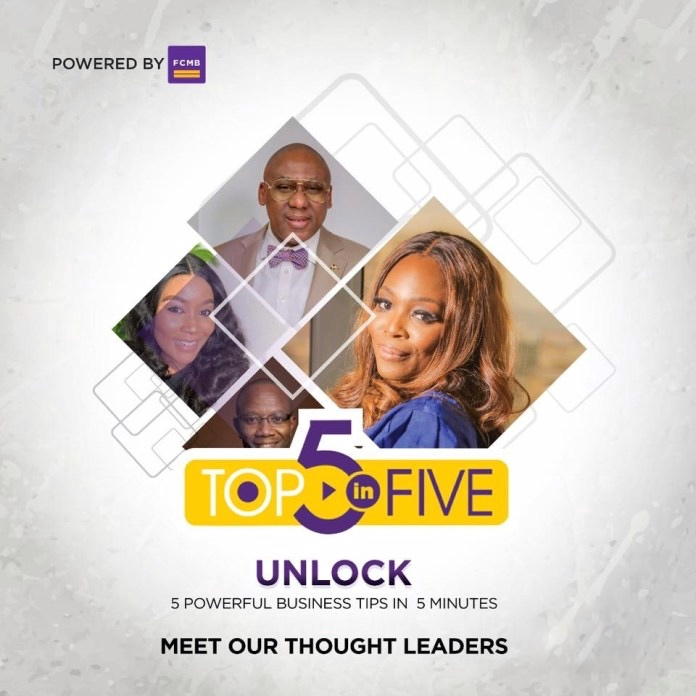 FCMB TOP 5- in-5 Masterclass A Review