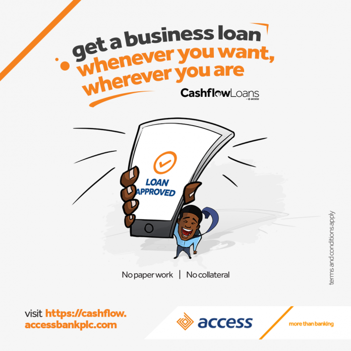Access Bank Excites SMEs with Digital Cashflow Lending - business news in Nigeria