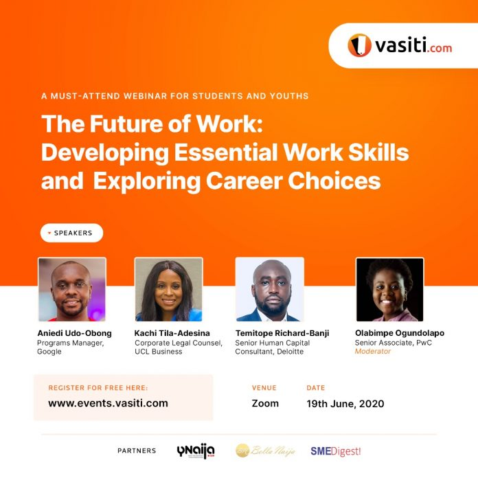 Vasiti.com Launches Innovative Virtual Series- Webinars, Masterclasses and Internships to Empower Students