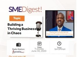 How SMEs can build formidabble brand by Chinedu Marksman Ijiomah Chinmark Group