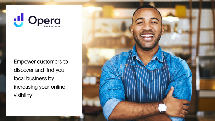 Opera Launches Opera For Business and announce new partnership with Google My Business