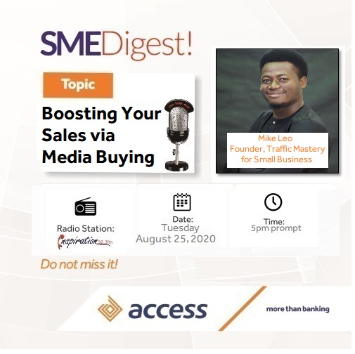 Boosting Your Sales Via Media Buying - SME Digest Radio Show