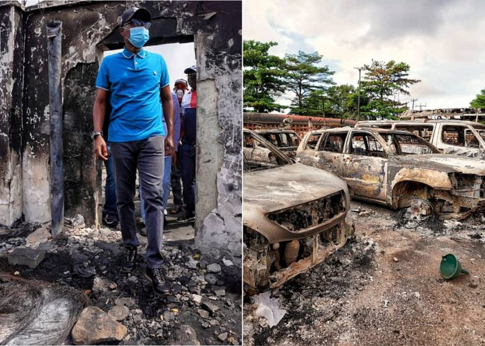 Lagos State Support for Businesses Looted During EndSars Curfew