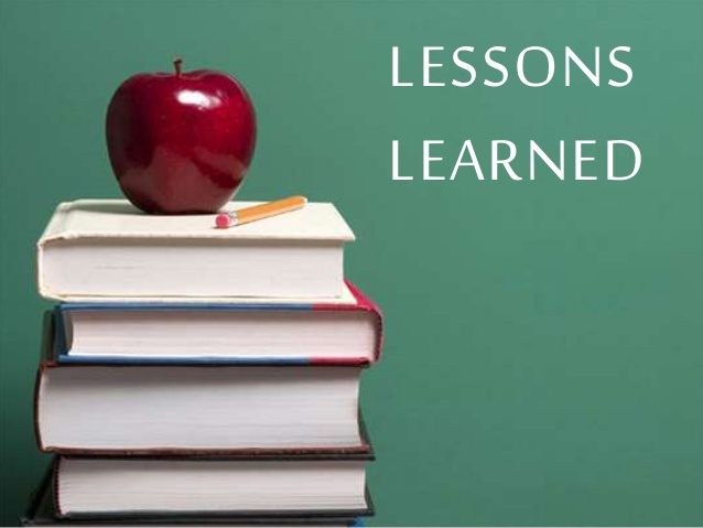 What is the Biggest Lesson that Life has Taught You?