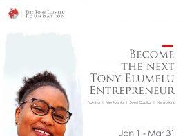 Tony Elumelu Foundation 2021 TEF Entrepreneurship Programme Application Opens on January 1 2021