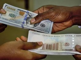 naira depreciates further