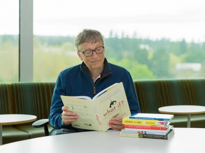 what the millionaires do - bill gate reading